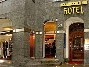 Hotel Askanischer Hof Berlin - Hotellet från utsidan