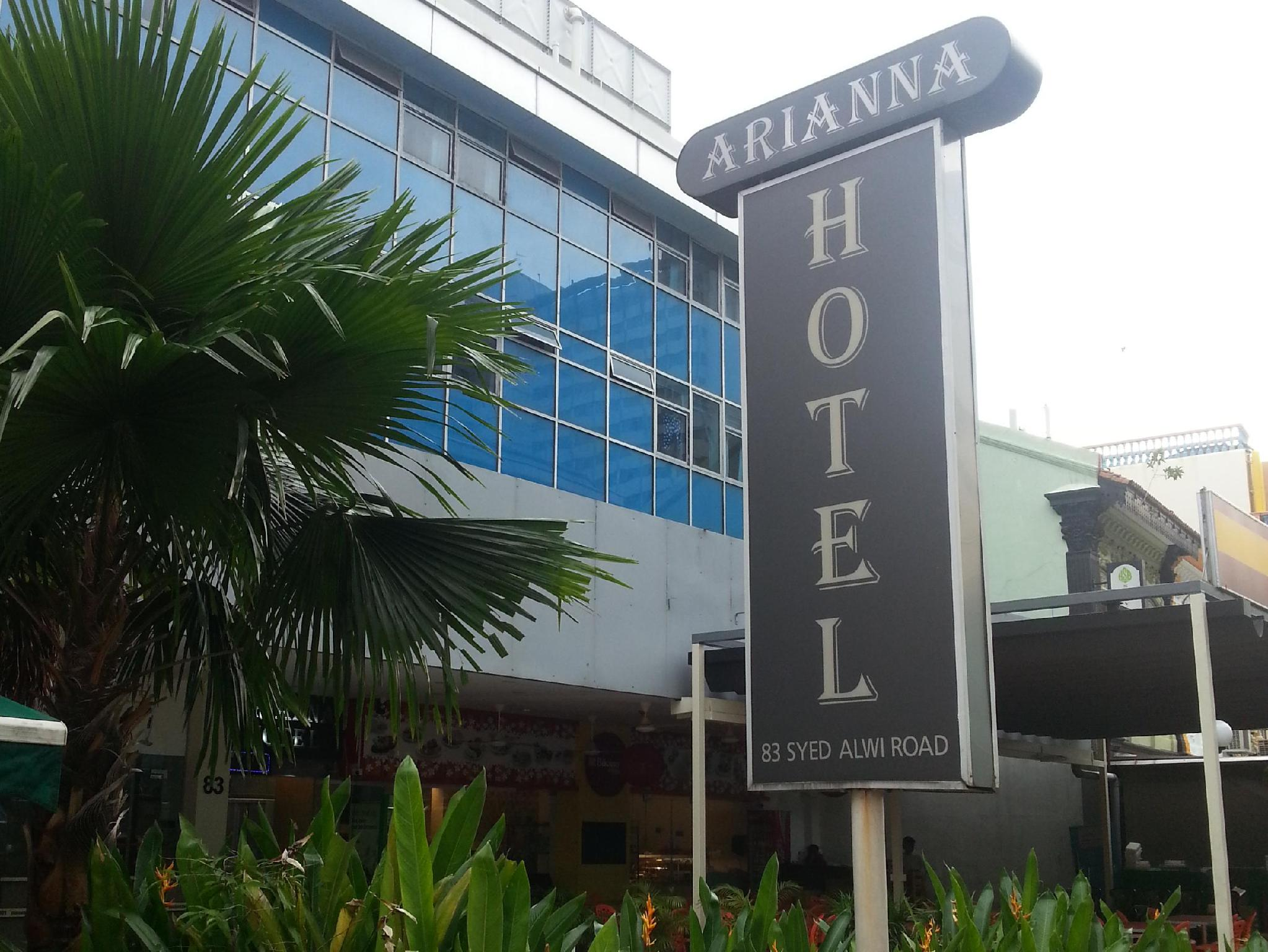 Arianna Hotel in Little India Singapore