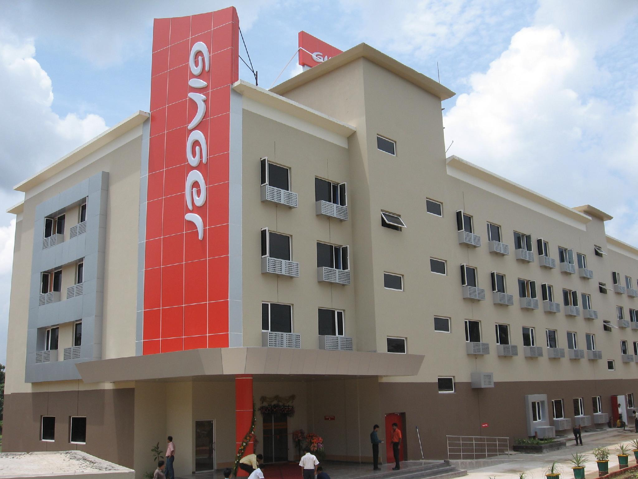Ginger Hotel Agartala - Hotell och Boende i Indien i Agartala