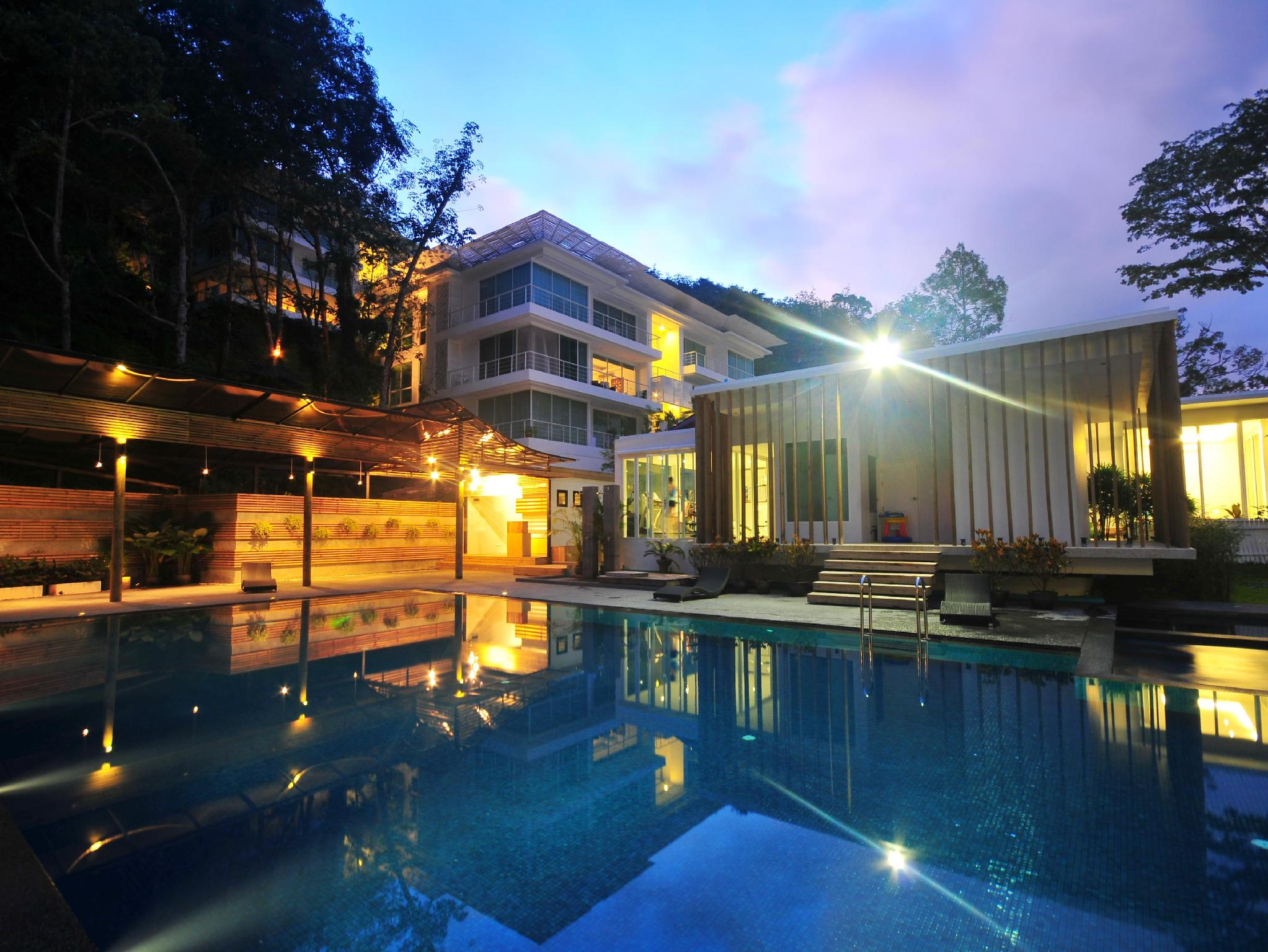 The Trees Club Resort Phuket - Hotel Aussenansicht