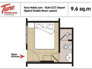 Tune Hotel - LCCT Kuala Lumpur - Bilik Tetamu