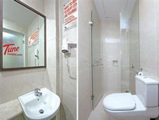 Tune Hotels – Kuta, Bali बाली - बाथरूम