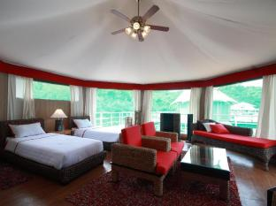 4 Rivers Floating Lodge Koh Kong - Twin bedded tent