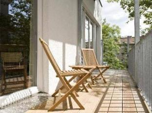 Pfefferbett Apartments Берлин - Балкон