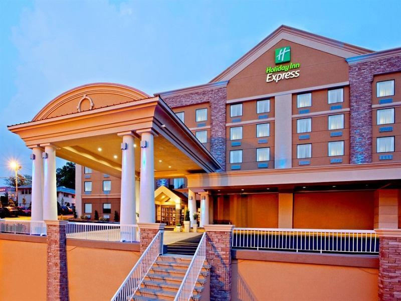 Holiday Inn Express North Bergen Lincoln Tunnel Hotel - Hotel and accommodation in Usa in North Bergen (NJ)