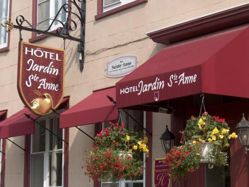 Hotel jardin ste anne quebec city qc canada for Auberge maison roy hotel quebec city
