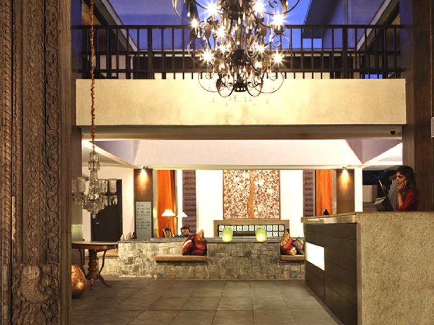 The O Resort and Spa - Hotell och Boende i Indien i Goa