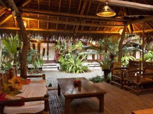 Philippines Hotel Accommodation Cheap | Blue Bayou Bungalows Boracay Island - Reception and Breakfast Area
