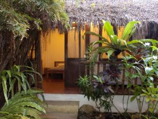 Philippines Hotel Accommodation Cheap | Blue Bayou Bungalows Boracay Island - Budget Bungalow (Evening)