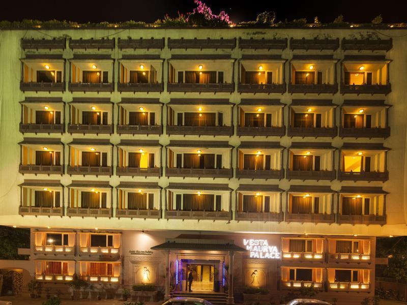 Vesta Maurya Palace - Hotell och Boende i Indien i Jaipur