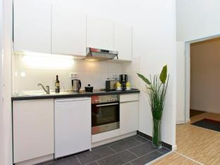 A & B Apartment & Boardinghouse Berlin Berlijn - Keuken