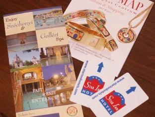 Star Inn Hotel Budapest Centrum Budapest - Guest Room Leaflets