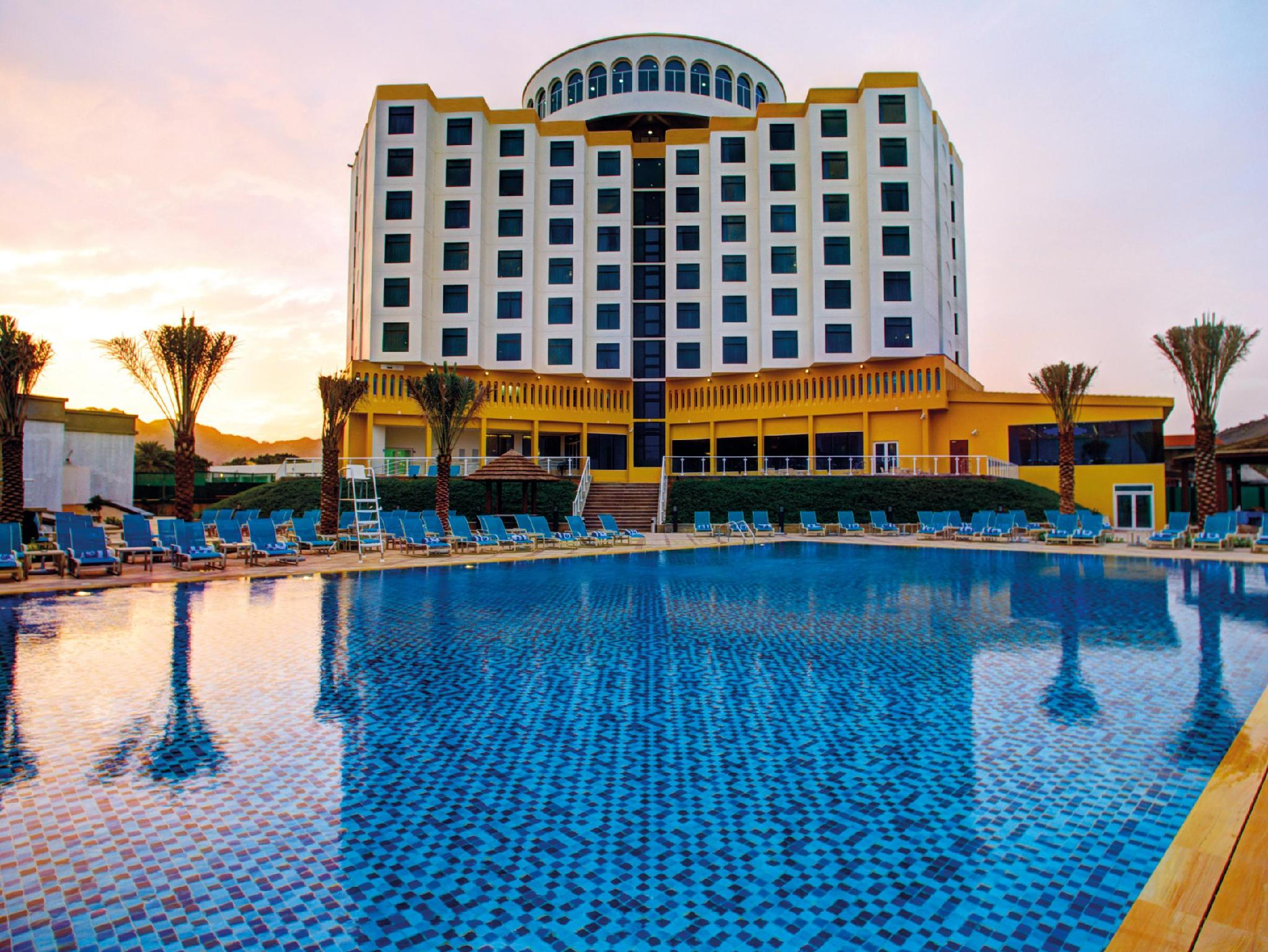 Oceanic Khorfakkan Resort & Spa - Hotels and Accommodation in United Arab Emirates, Middle East