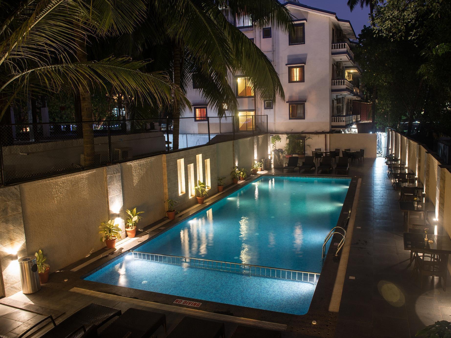 Vivenda Calangute Hotel - Hotell och Boende i Indien i Goa