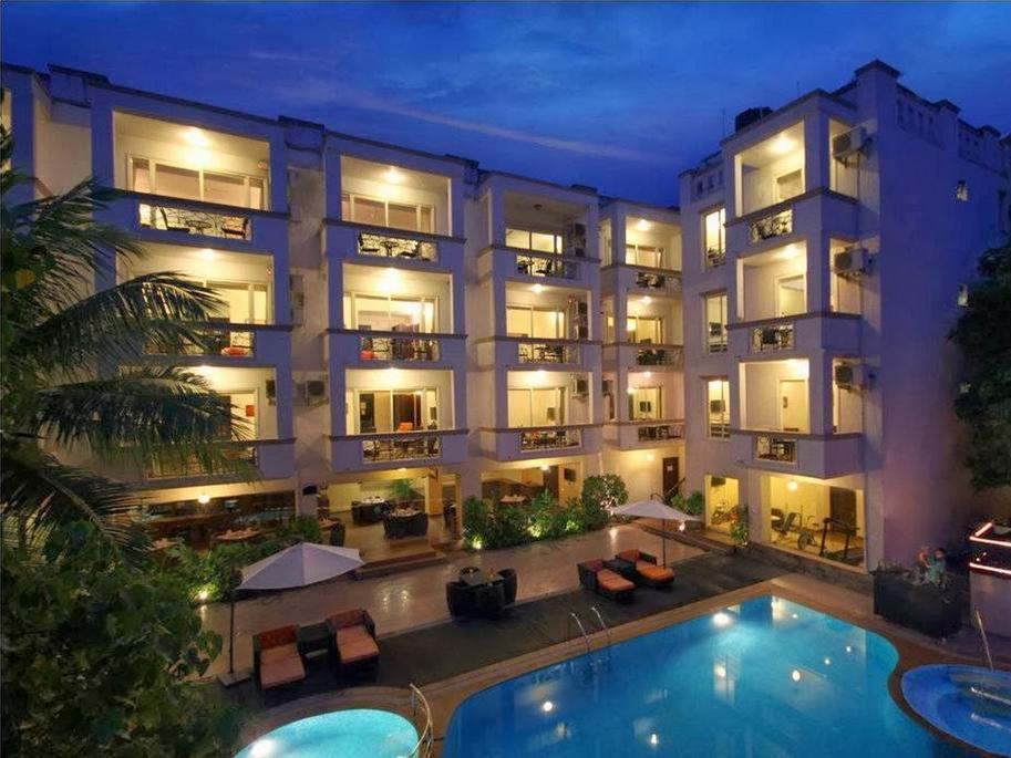 Hotel Meraden La Oasis by the Verda Nord Goa