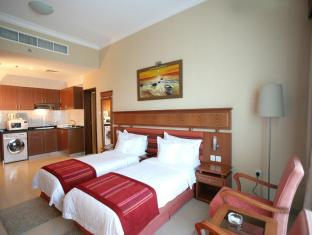 Winchester Deluxe Hotel Apartments - Winchester Hotel Apartments Dubai - Executive Studio - Twin Beds