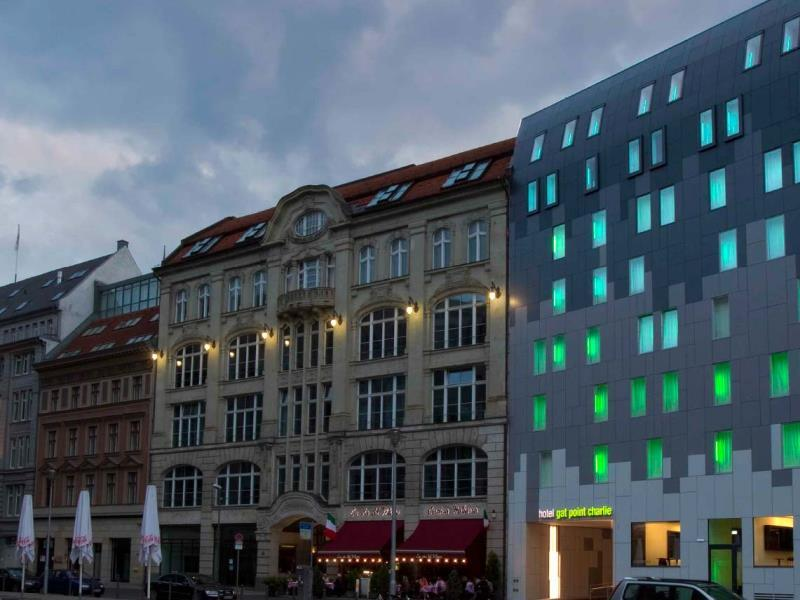 Hotel Gat Point Charlie Berlin - Utsiden av hotellet