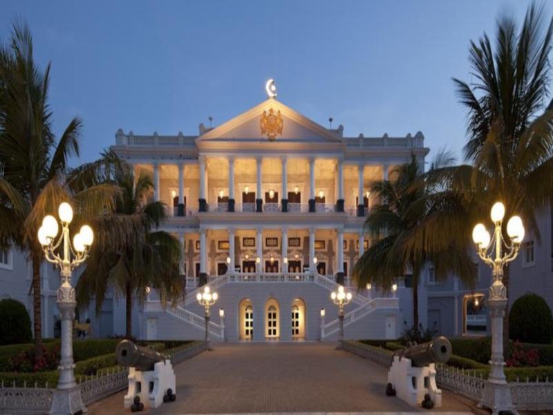 Taj Falaknuma Palace - Hotell och Boende i Indien i Hyderabad
