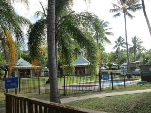 Nomads Airlie Beach Hotel Whitsunday Islands - حديقة