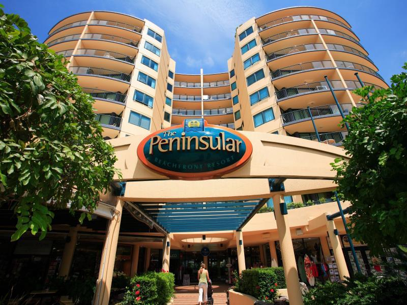 Peninsular Beachfront Resort - Hotell och Boende i Australien , Sunshine Coast