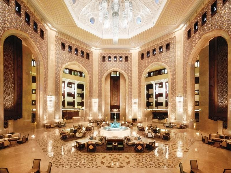 Al Bustan Palace a Ritz-Carlton Hotel - Hotels and Accommodation in Oman, Middle East