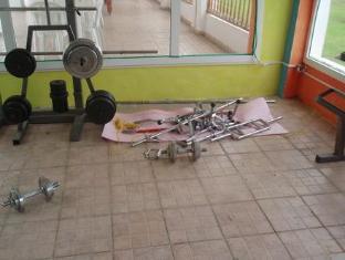 فندق البستان  الحمامات - غرفة اللياقة البدنية
