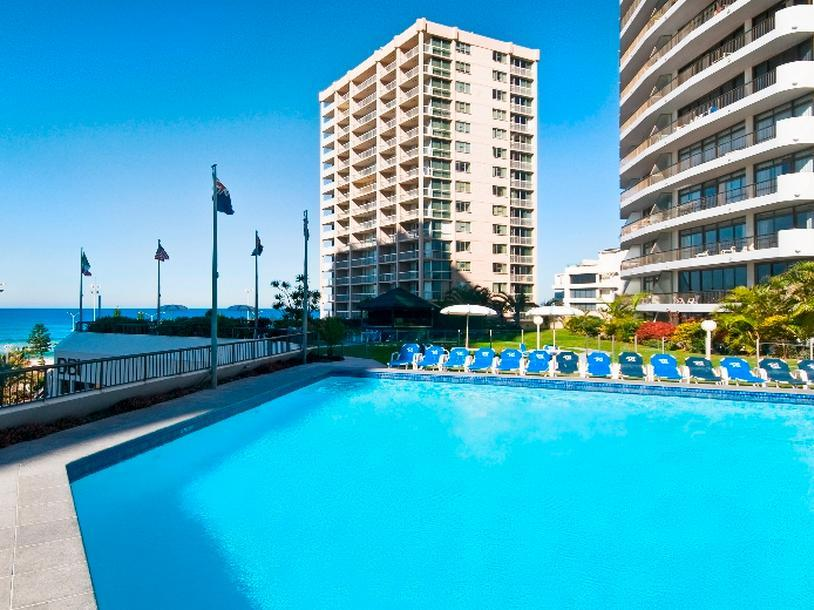 Surfers International Apartments Resort - Hotell och Boende i Australien , Guldkusten