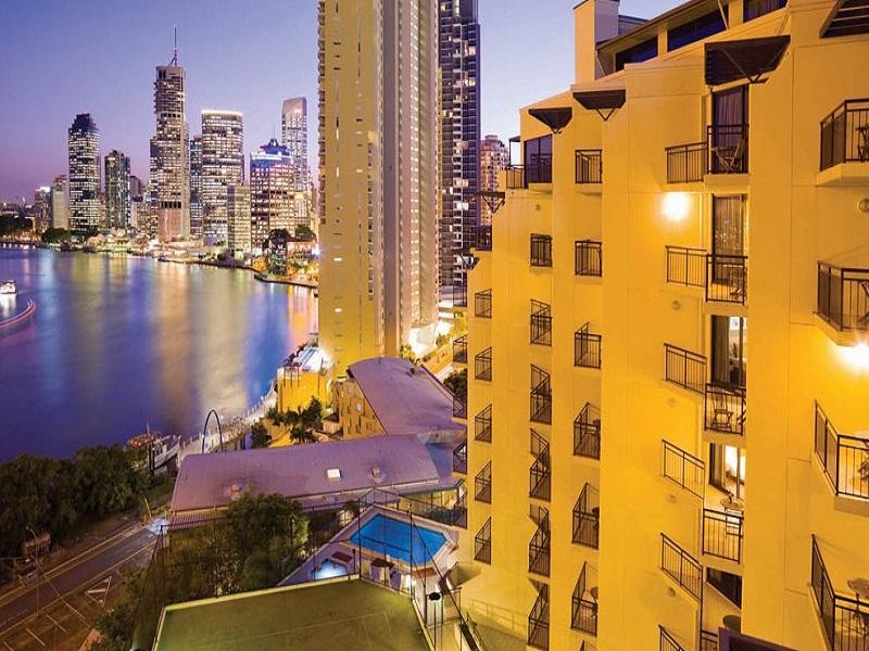 Adina Apartment Hotel Brisbane - Hotell och Boende i Australien , Brisbane