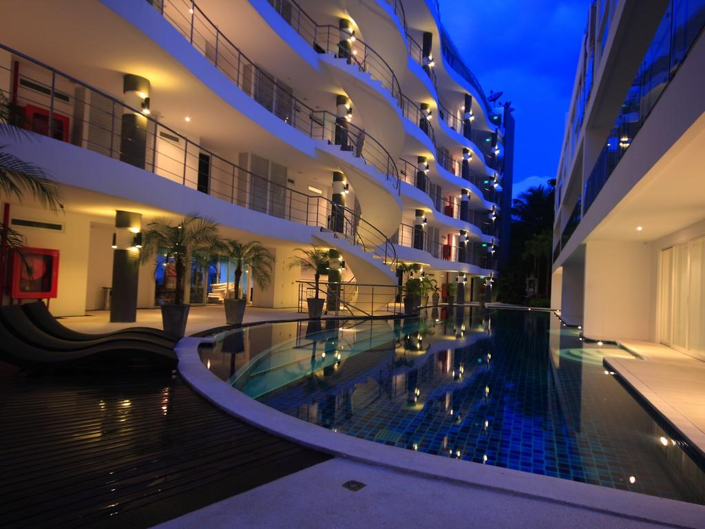 Sunset Plaza Serviced Apartments - Hotels and Accommodation in Thailand, Asia