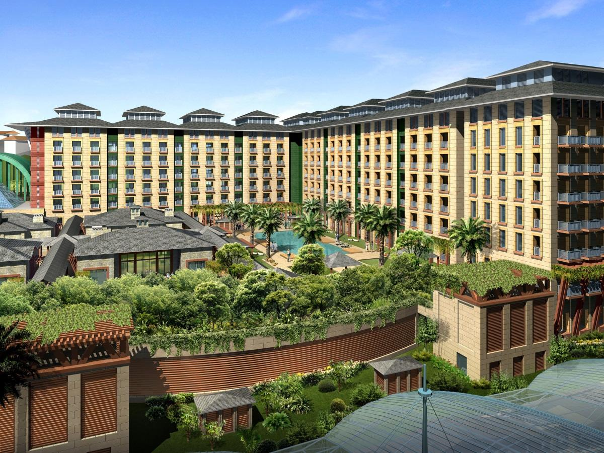 Resorts World Sentosa - Festive Hotel Singapore - Hotel Exterior