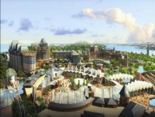 Resorts World Sentosa - Festive Hotel Singapore - Aerial View - Resorts