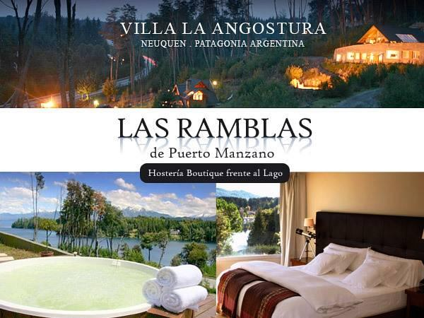 Las Ramblas De Puerto Manzano / Suite Boutique Villa La Angostura - Hotels and Accommodation in Argentina, South America