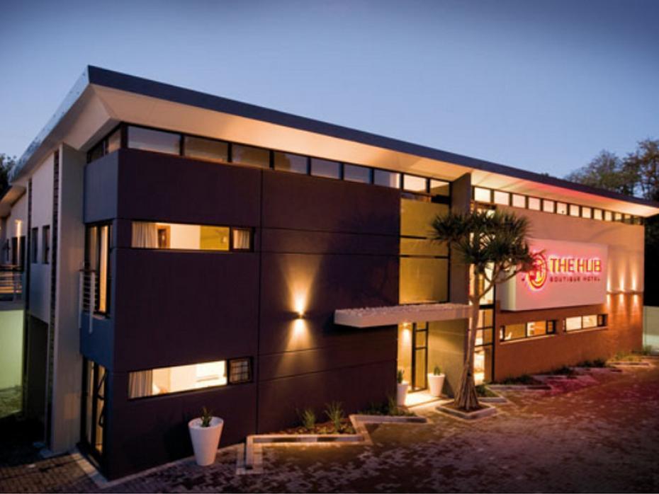 Modern boutique hotel