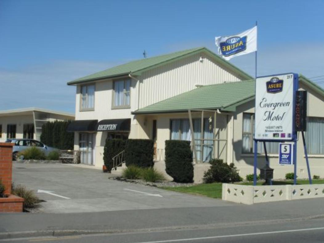 Asure Evergreen Motel - Hotels and Accommodation in New Zealand, Pacific Ocean And Australia