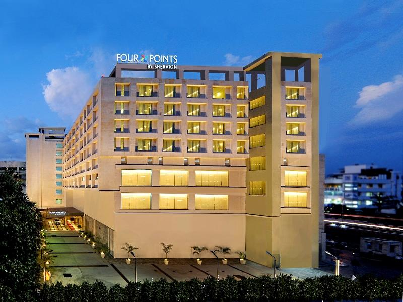 Four Points By Sheraton Jaipur City Square Hotel - Hotell och Boende i Indien i Jaipur