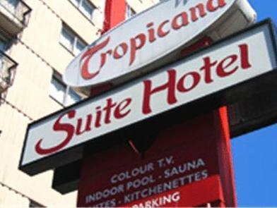 Tropicana Suite Hotel Vancouver (BC) - Exterior