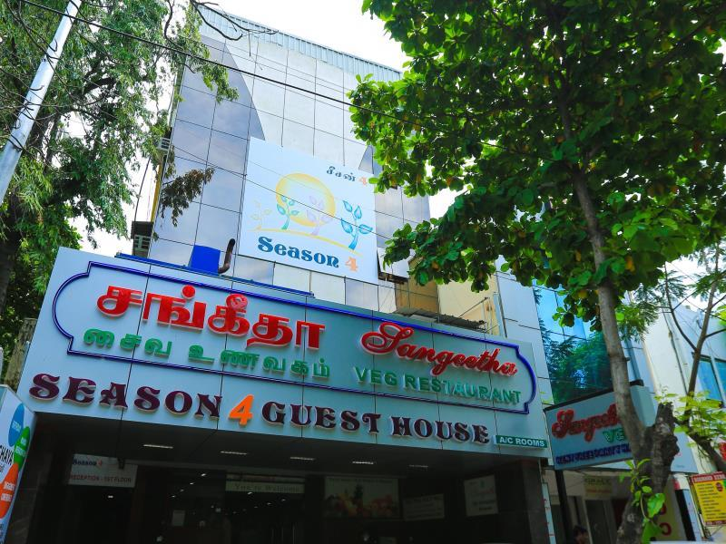 Season 4 Guest House - Hotell och Boende i Indien i Chennai