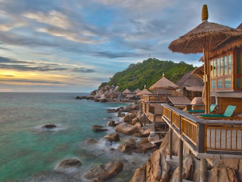 Koh Tao Bamboo Huts - Hotels and Accommodation in Thailand, Asia
