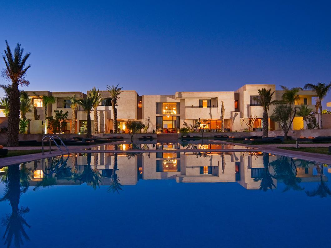 Sirayane Boutique Hotel & Spa Marrakech - Resort in the Evening