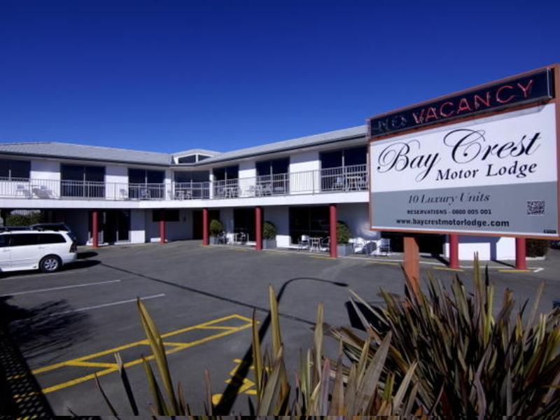 Bay Crest Motor Lodge - Hotels and Accommodation in New Zealand, Pacific Ocean And Australia