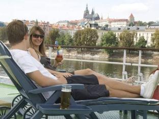 Florentina Boat Hotel Praha - Utsikt
