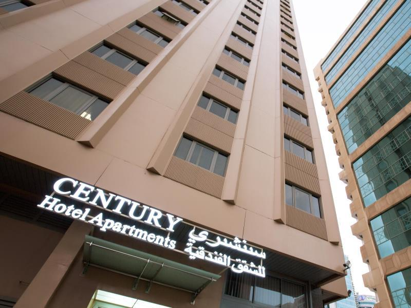 Century Hotel Apartments Абу-Дабі - Зовнішній вид готелю