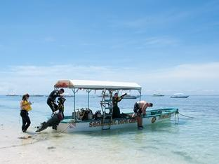 Oasis Beach & Dive Resort Panglao Island - Seaquest speedboat