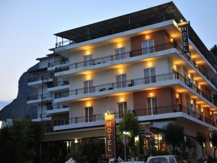Hotel Edelweiss Kalampaka - Exterior