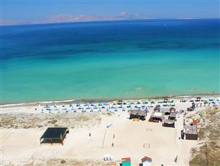 Gaia Palace Kos Island - Aerial view of our Private beach
