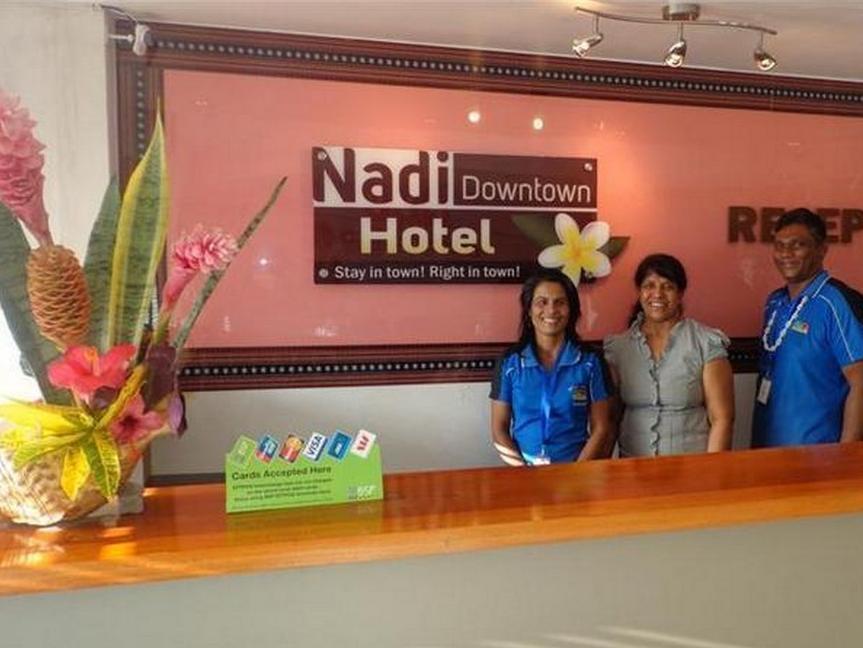 Nadi Downtown Hotel - Hotell och Boende i Fiji i Stilla havet och Australien