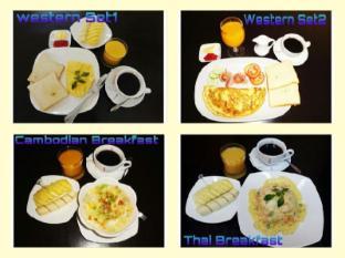 BJ's House Phnom Penh - Breakfast