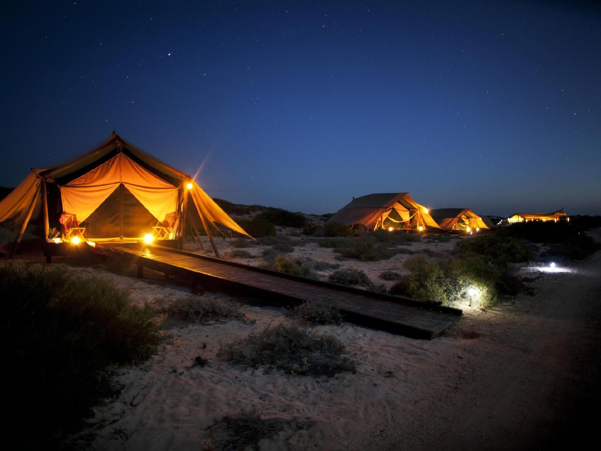 Sal Salis Ningaloo Reef Hotel - Hotell och Boende i Australien , Exmouth