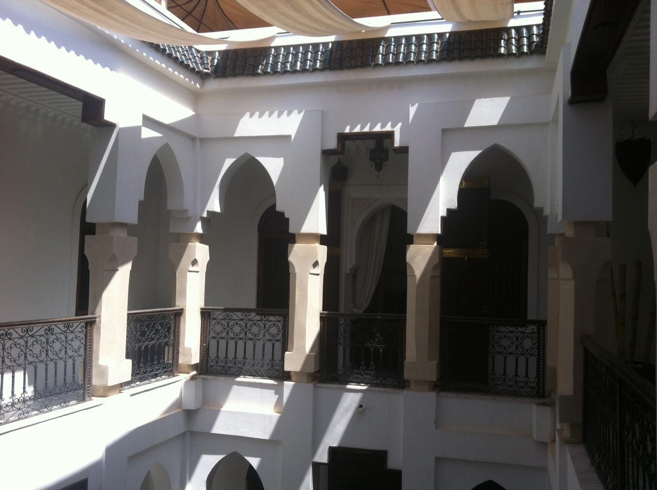 Dar Sohane Hotel Marakeš - zunanjost hotela