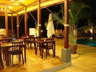 Ampha Place Hotel Samui - Restaurant at Night